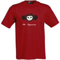 T-shirt L Cheburashka, L, red
