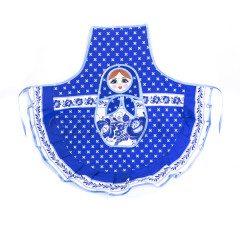 Textiles apron Gzhel