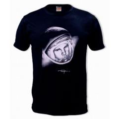 T-shirt L Gagarin, L, black