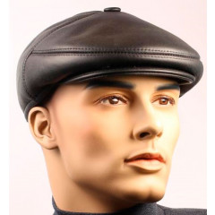Headdress fur hat leather cap, fur