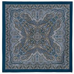Pavlovo Posad Shawl Pavlovo Posad silk atlas, 89 x 89 846-13 Novella, view 13