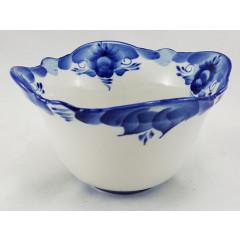 Gzhel salad bowl medium