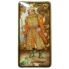 Lacquer Box Prince Ivan and Princess Frog