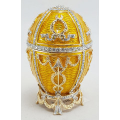 "Copy Of Faberge HJD0416-3 Easter egg ""With an arrow"" musical, golden color"