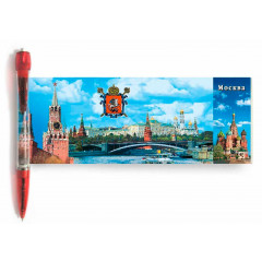 "Pen 466-17-R panorama Pen ""Moscow"", length 14 cm"