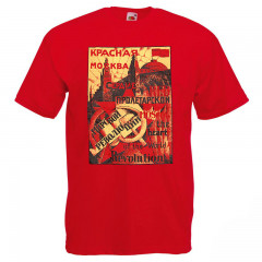 T-shirt L Red Moscow L red