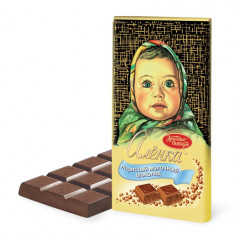 Chocolate milk, chocolate Alenka, 100