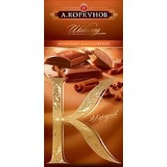 """Chocolate Chocolate tile """"Korkunov"""""""