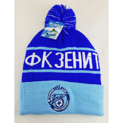 Headdress woolen hat the cap of the Zenit fan