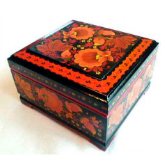Khokhloma gift box 12 h 8 h 5.5