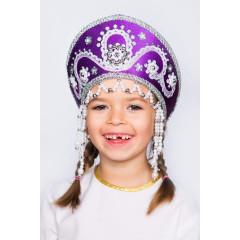 Russian folk costume KOKOSHNIKI Kokoshnik Alina 16143