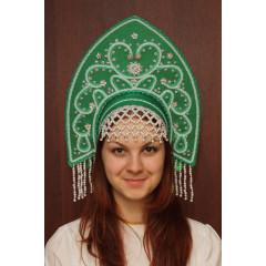 Russian folk costume KOKOSHNIKI Kokoshnik Anna 16162