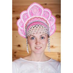 Russian folk costume KOKOSHNIKI Kokoshnik Elena 16207