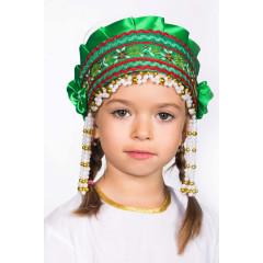 Russian folk costume KOKOSHNIKI Kokoshnik Inna 16231