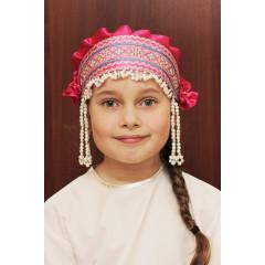 Russian folk costume KOKOSHNIKI Kokoshnik Inna 16233