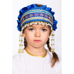 Russian folk costume KOKOSHNIKI Kokoshnik Inna 16237