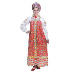 Russian folk costume Sundresses Sarafan Natalia 17095