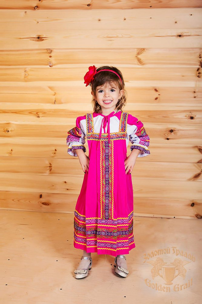 Russian folk costume Sundresses Sarafan Daria 17025