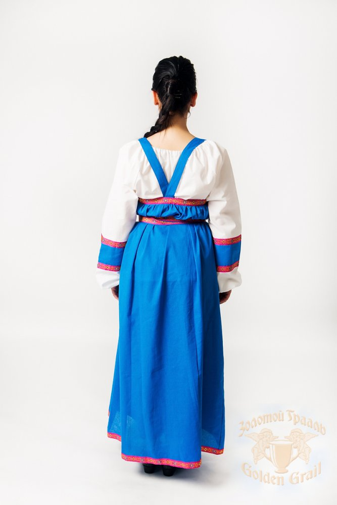 Russian folk costume Sundresses Sarafan Marfusha SLYA 21920